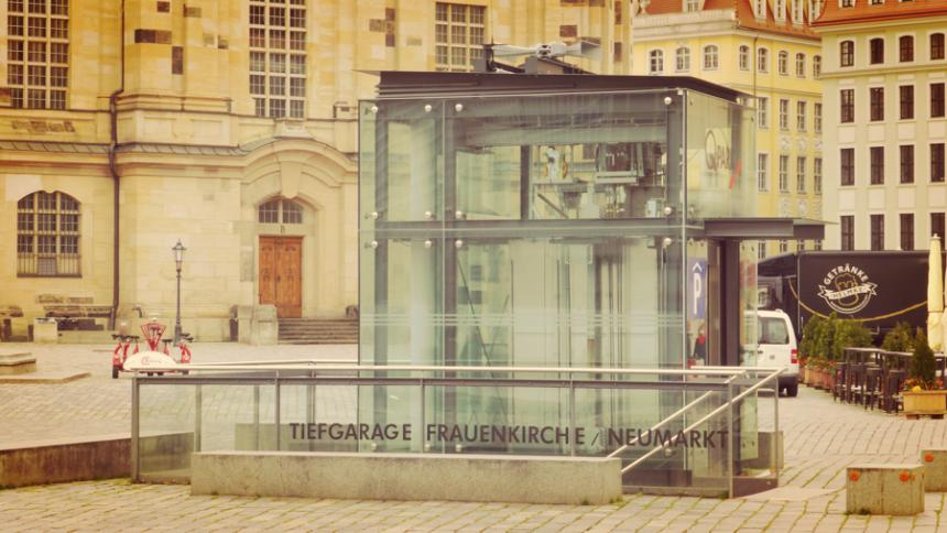 В сердце старого города Дрезден введена в эксплуатация 204-ая электронная сирена в качестве составной части дрезденской городской системы предупреждения