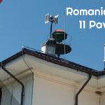 Система раннего предупреждения в области Вранча, Румыния