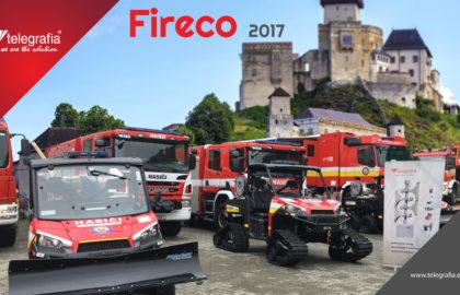 Участие компании «Telegrafia» на 13 международной выставке FIRECO в г. Тренчин, Словакия