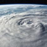 Приливная волна в результате урагана Ирма