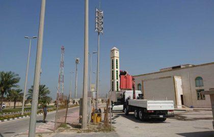 Система оповещения в Порту Короля Абдул-Азиза,  Даммам, Саудовская Аравия