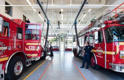 Telegrafia Принимает Участие в Реконструкции Пожарных Частей