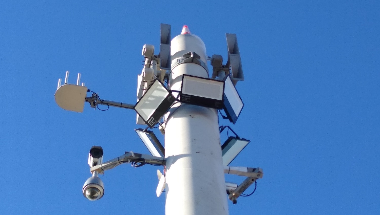 Система оповещения и громкой связи в порту Нэпир, Хокс-Бей, Новая Зеландия