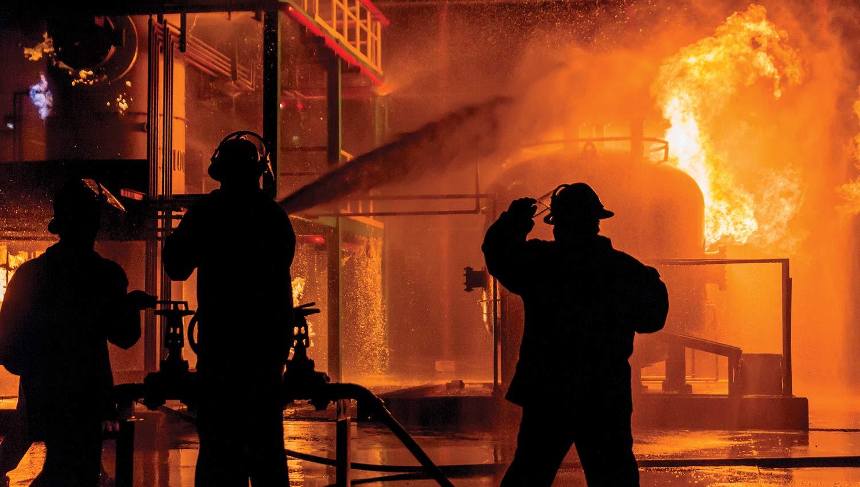 Снижение рисков промышленных пожаров