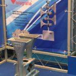 Electronic siren manufacturer Telegrafia at ASIAWATER 2016 fairs in Kuala Lumpur