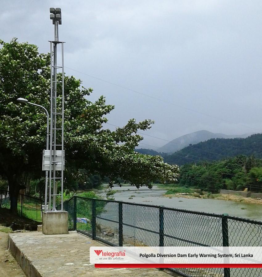 dam warning system_sri lanka