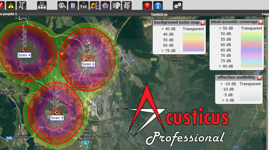 How to Estimate and Set up Background Noise Levels in Acusticus