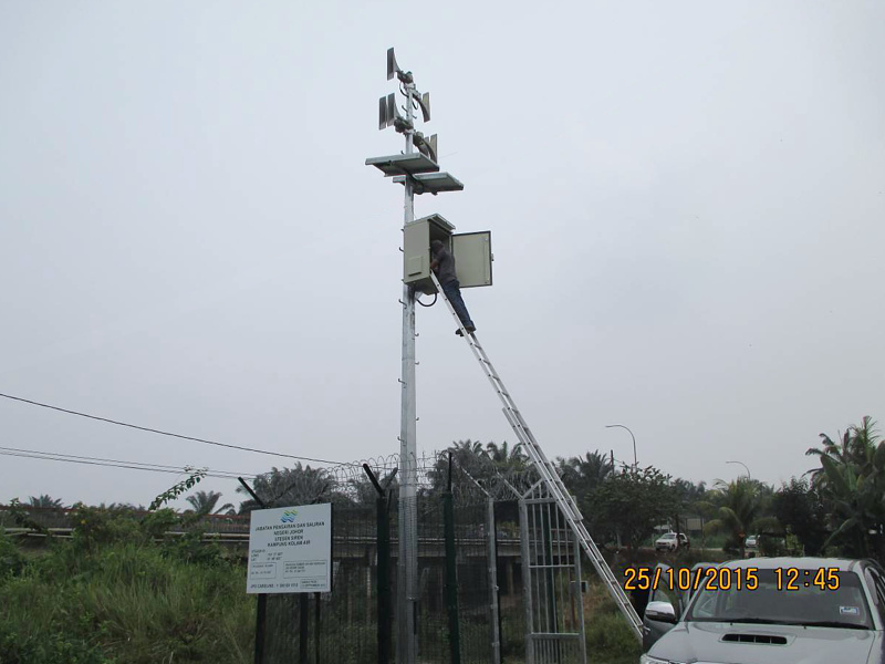 Success story – 14 Telegrafia´s Sirens in 6 Malaysian Dam Warning Systems