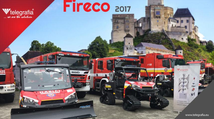 Telegrafia Attending 13th International Fireco 2017 Exhibition in Trencin, Slovakia