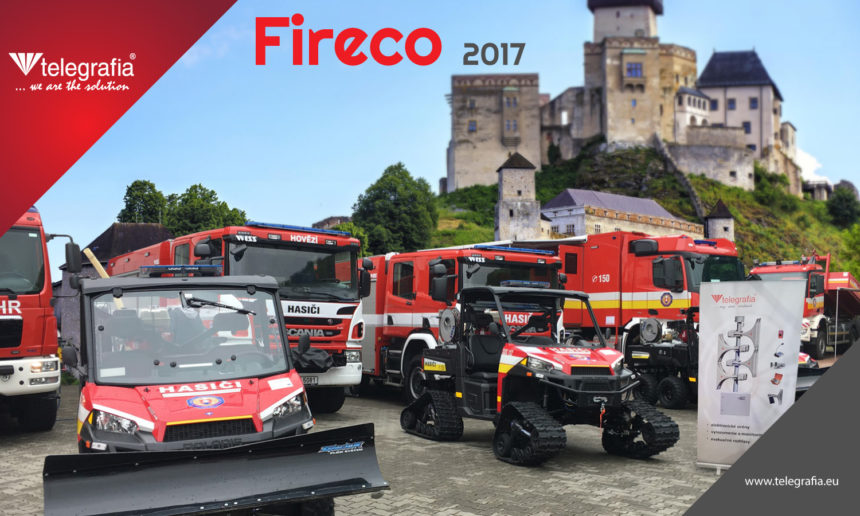 Telegrafia Attending 13th International Fireco 2017 Exhibition in Trencin, Slovakia