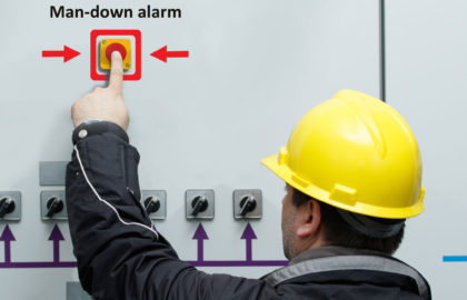 Man-Down Alarm System