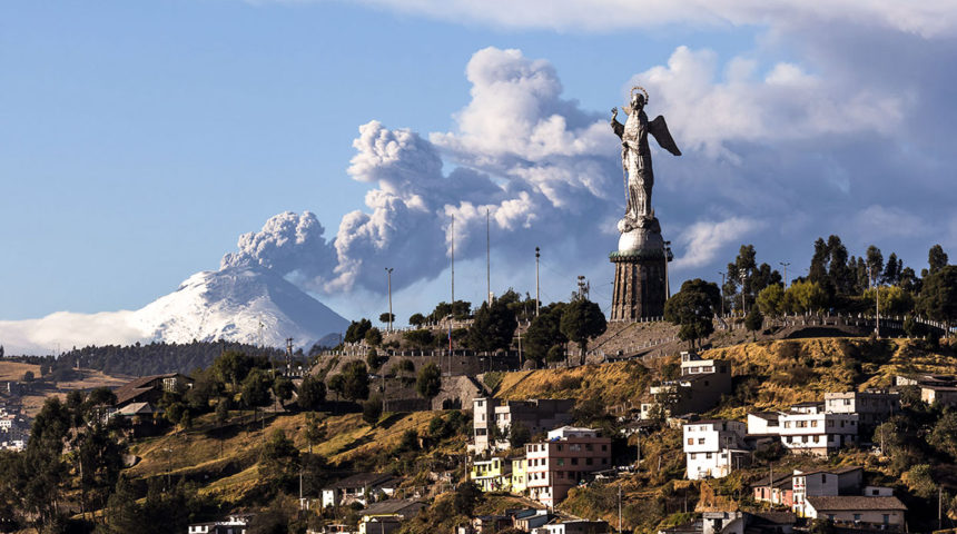 How to Warn the Local Population in Case of a Volcanic Eruption?  Part 1/2: Danger of a Volcanic Eruption in Ecuador