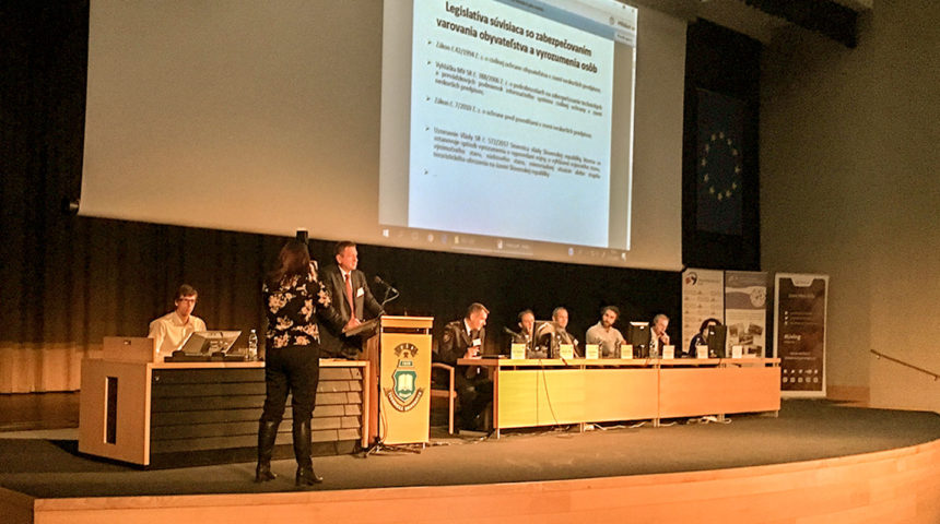 Telegrafia at the International Conference on  CIVIL PROTECTION – Medical Rescue Work in Protection of Population 2018