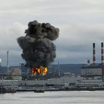 Blast at the Irving Oil Refinery in Canada
