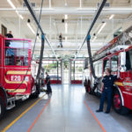 Telegrafia Assists in the Renovation of Fire Stations