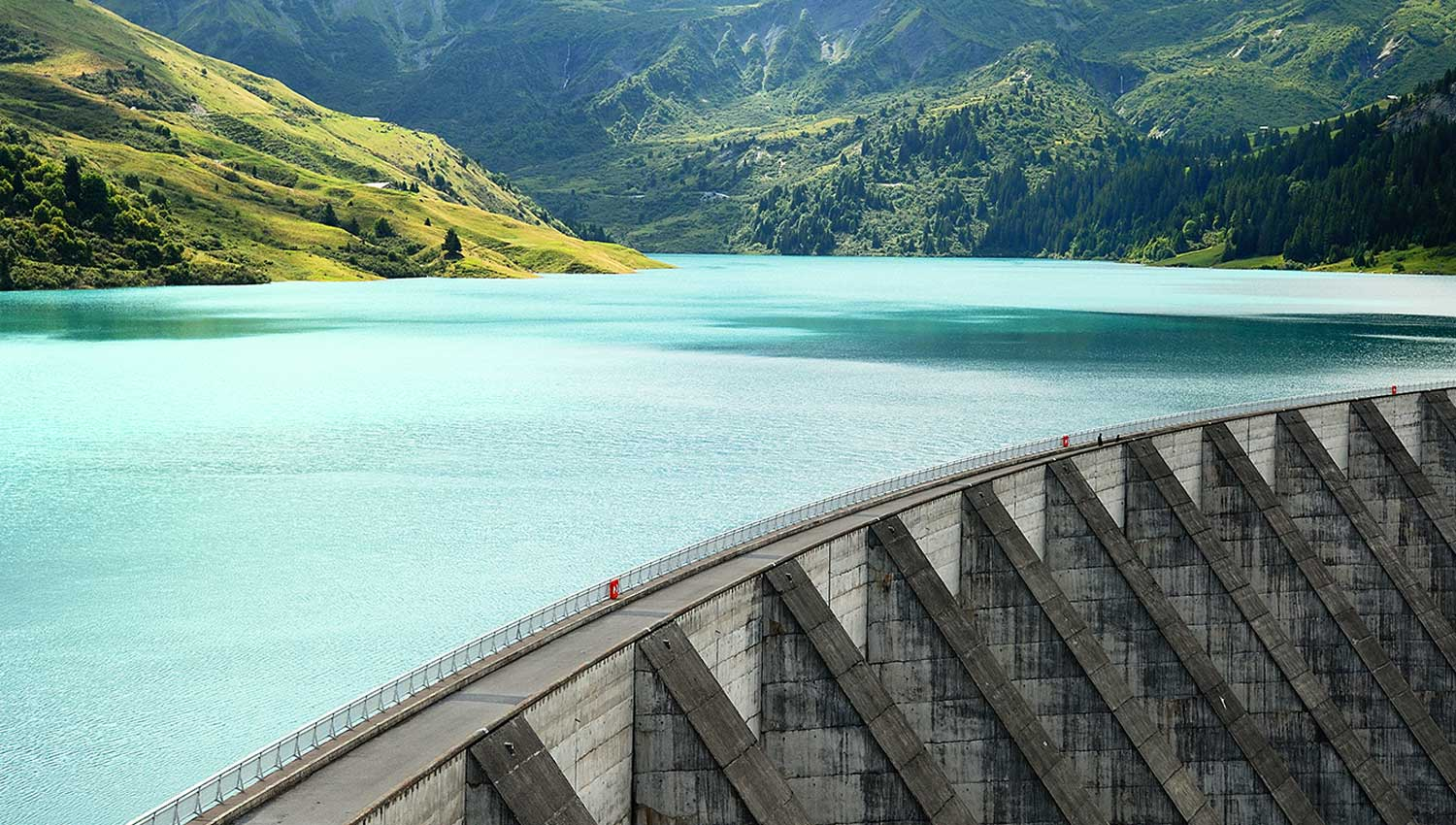 Safety of Dams and their Surroundings