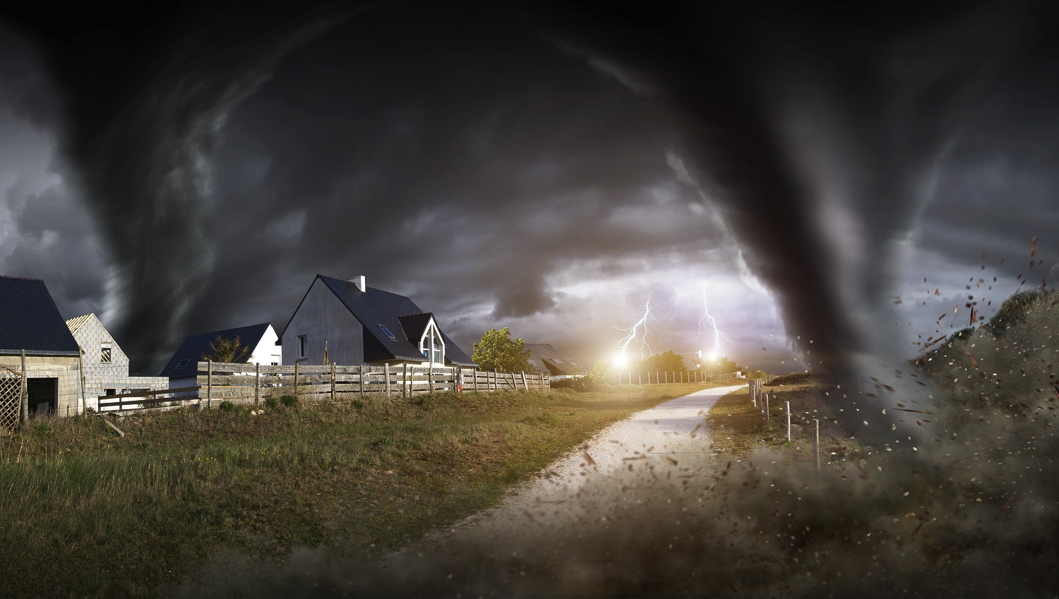 Storms and Tornadoes: Formation, Damage and Defensive Measures
