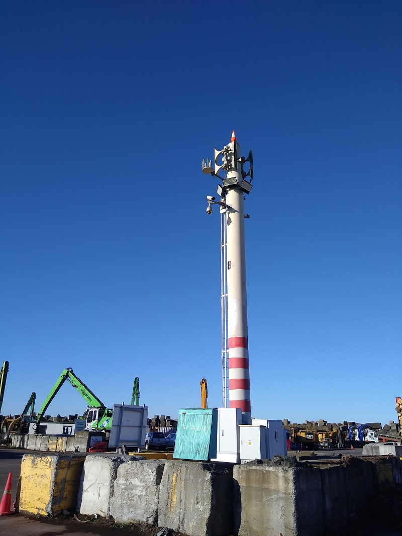 Public Address and Warning System_Napier Port