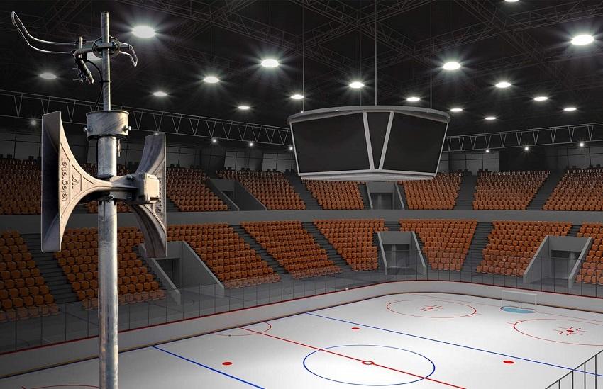 winter stadium electronic siren