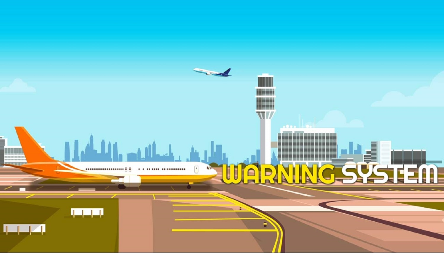 Mass warning systems for airports