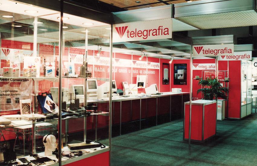 Telegrafia history