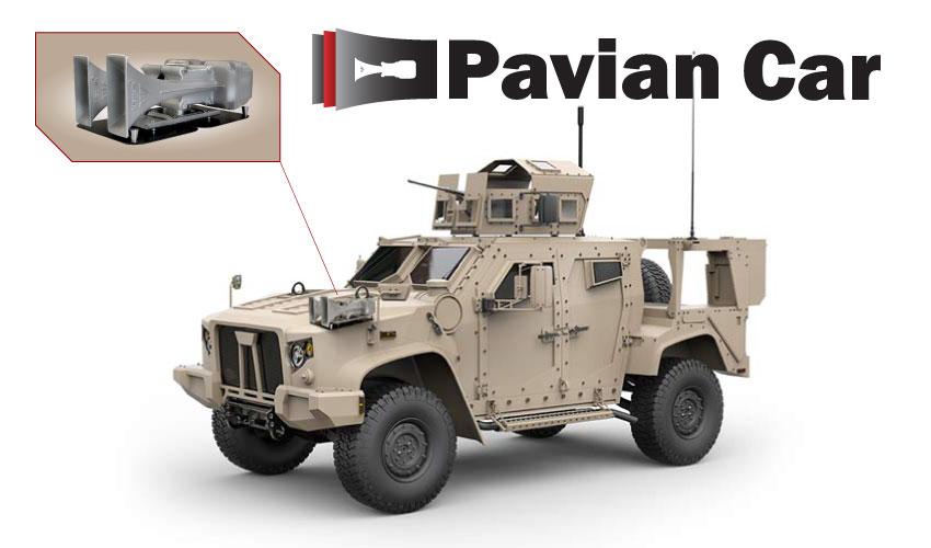 Mobile siren Pavian Car