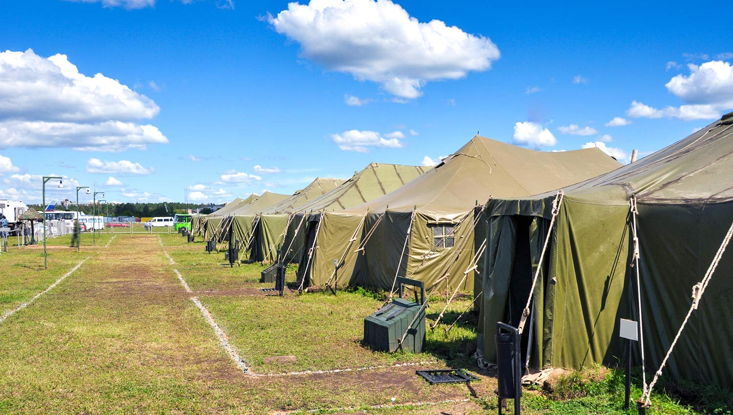 Warning and PA Systems in Military Camps