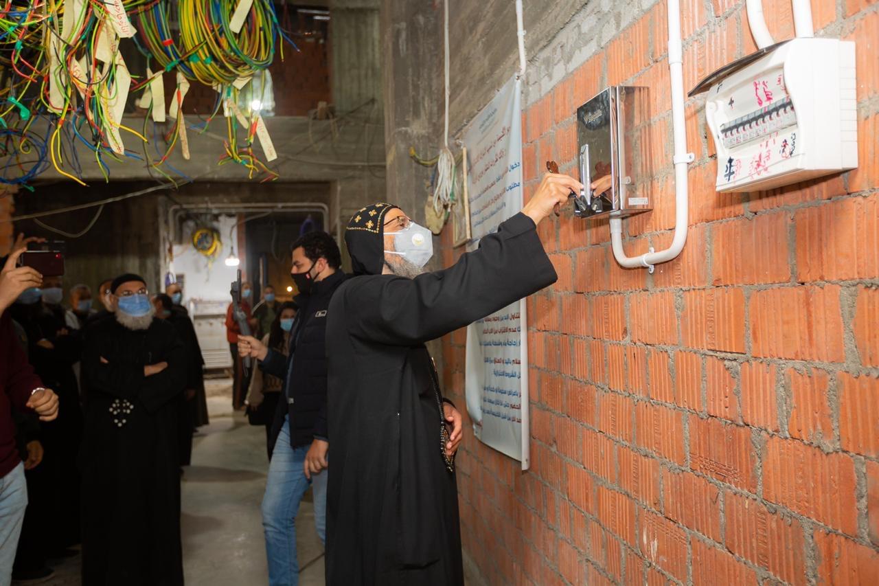 electronic church bell Egypt