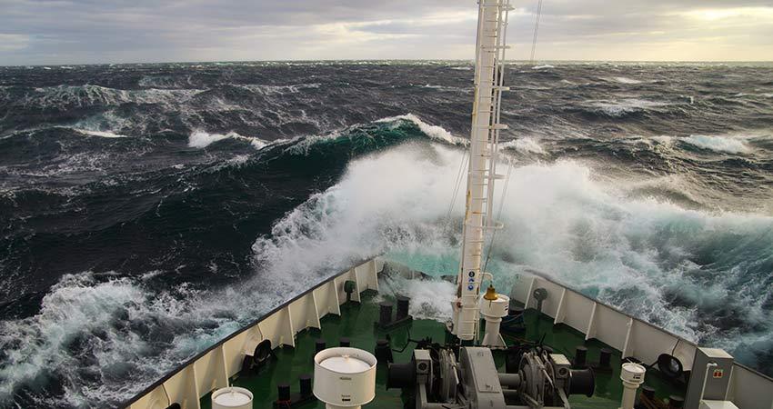 Warning sirens on naval ships
